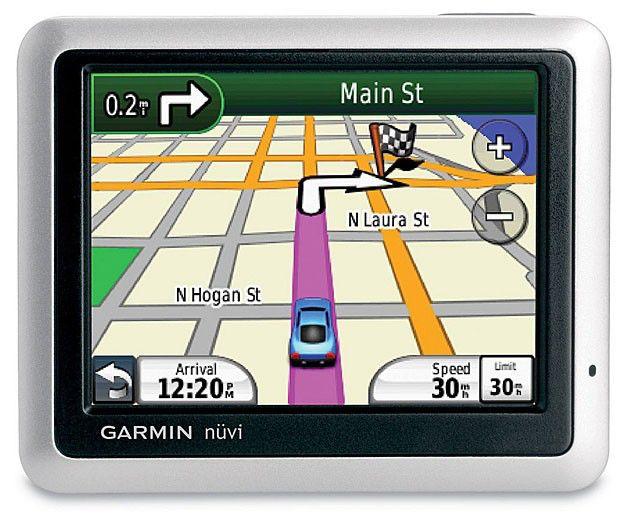 "GPS навигатор GARMIN Nuvi 1255T,  3.5"",  авто, 2Гб, Garmin,  серебристый"