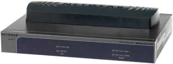 Точка доступа NETGEAR WNDAP350-100PES,  черный