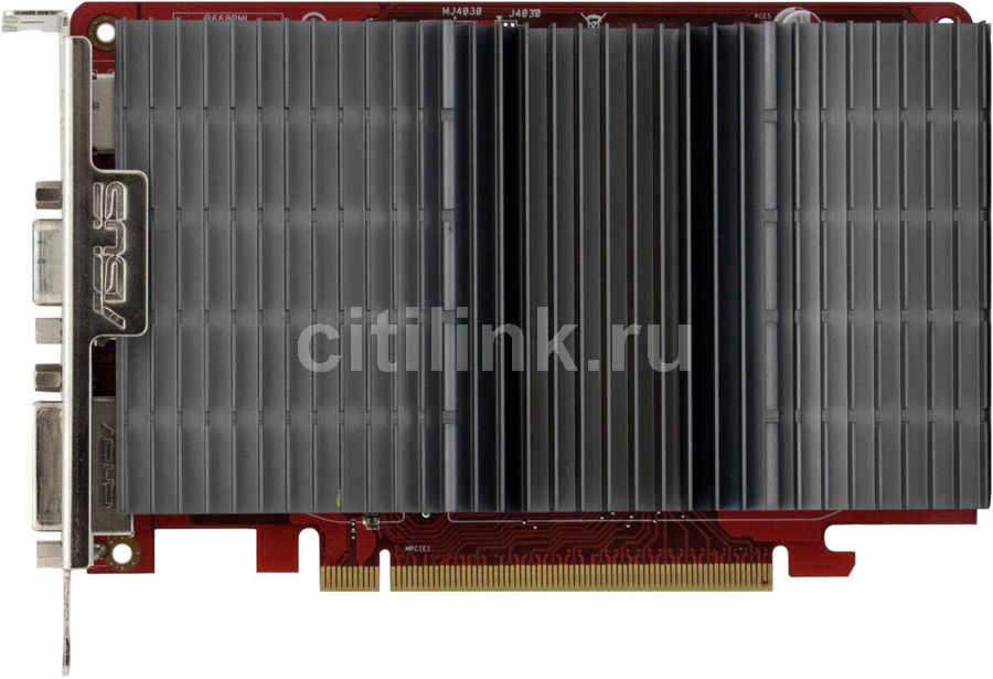 Видеокарта ASUS Radeon HD 5570,  1Гб, DDR2, Ret [eah5570 silent/di/1gd2]