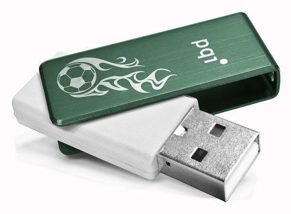 Флешка USB PQI Traveling Disk U262 4Гб, USB2.0, зеленый