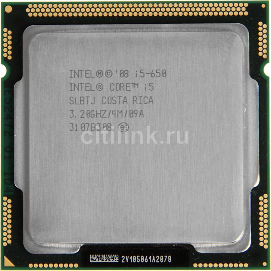 Процессор INTEL Core i5 650, LGA 1156 OEM [cpu intel lga1156 i5-650 oem]