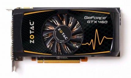 Видеокарта ZOTAC GeForce GTX 460,  768Мб, GDDR5, Ret [zt-40401-10p]