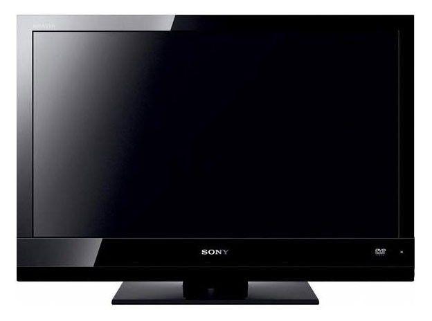 """Телевизор ЖК SONY BRAVIA KDL-22BX20DR  22"""", HD READY (720p),  c DVD плеером,  черный"""