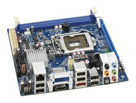 Материнская плата INTEL DH57JG, LGA 1156, Intel H57, mini-ITX, Ret