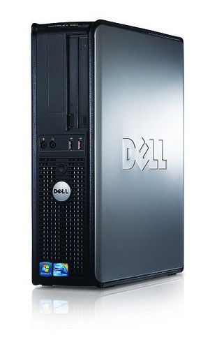 DELL Optiplex 380 DT,  Intel  Pentium Dual-Core  E6500,  DDR2 2Гб, 500Гб,  Intel GMA 4500,  DVD-RW,  Free DOS,  черный [x053800121r]