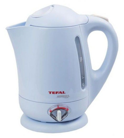 Чайник электрический TEFAL BF6623, 2200Вт, голубой