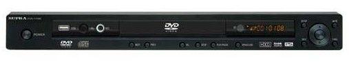 DVD-плеер SUPRA DVS-115XK,  серебристый