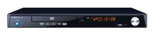 DVD-плеер SUPRA DVS-514XKII,  черный
