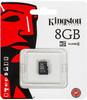 Карта памяти microSDHC KINGSTON 8 ГБ