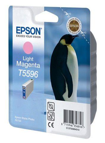 Картридж EPSON C13T55964010 светло-пурпурный