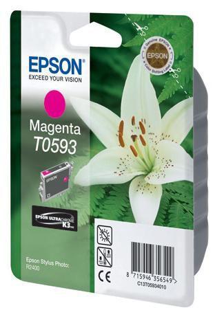 Картридж EPSON T0593 пурпурный [c13t05934010]