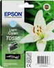 Картридж EPSON T0595 светло-голубой [c13t05954010] вид 1