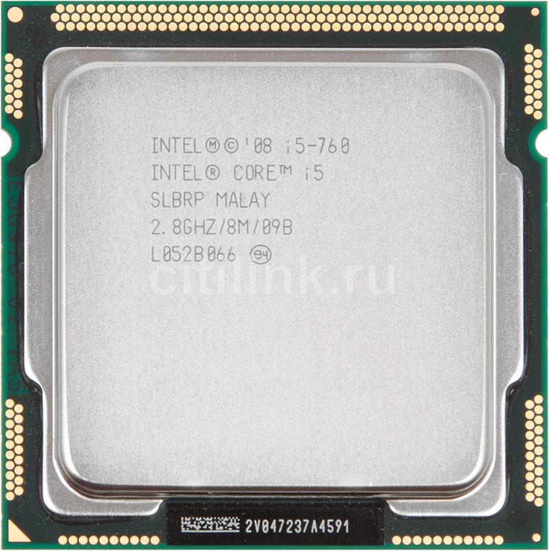 Процессор INTEL Core i5 760, LGA 1156 OEM [cpu intel s1156 i5-760 oem]