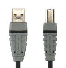 Кабель USB BANDRIDGE BCL412,  USB A(m) -  USB B(m),  2м [bcl4102]