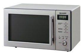 Микроволновая печь SHARP R267LST, серебристый