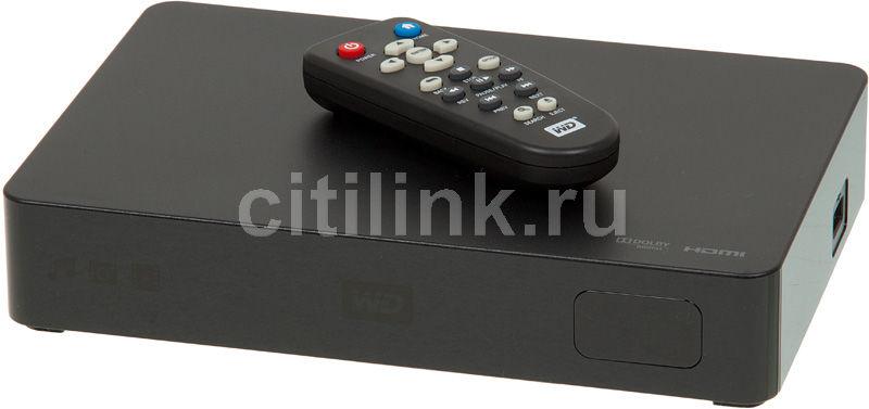 Медиаплеер WD Elements Play WDBACC0010HBK-EESN,  1000Гб черный