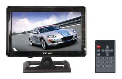 Автомобильный портативный телевизор VELAS VTV-C910,  9