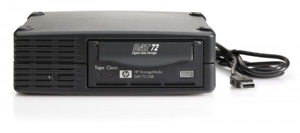 Ленточный привод HP StorageWorks DAT72 USB Ext Drive (DW027A)
