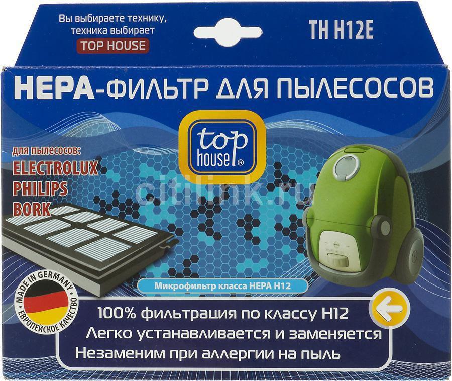 НЕРА-фильтр TOP HOUSE TH H12E,  1 шт., для пылесосов Electrolux