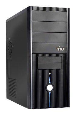 IRU Corp 320,  AMD  Sempron  X145,  DDR2 1Гб, 160Гб,  DVD-RW,  noOS,  черный