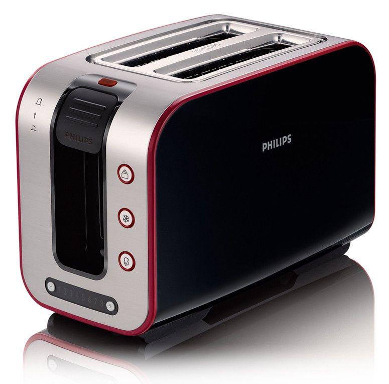 Тостер PHILIPS HD2686/90,  черный