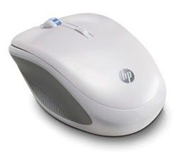 Мышь HP оптическая беспроводная USB, белый [wx408aa]