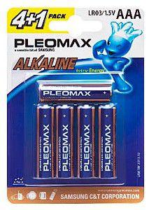 Батарея SAMSUNG Pleomax LR03,  5 шт. AAA