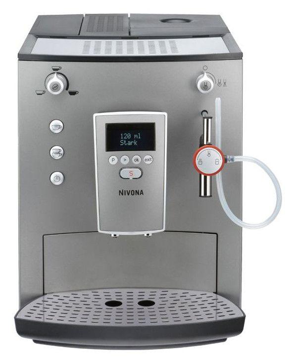 Кофемашина NIVONA Cafe Romantica NICR750,  серебристый