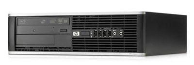 HP Elite 8000SFF,  Intel  Pentium  E5500,  DDR3 2Гб, 320Гб,  Intel GMA 4500,  DVD-RW,  Windows 7 Professional,  черный [wu035ea]