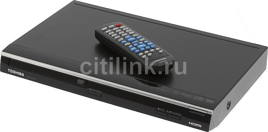 DVD-плеер TOSHIBA SD-3010KR,  черный