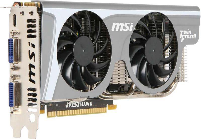 Видеокарта MSI GeForce GTX 460,  1Гб, GDDR5, OC,  Ret [n460gtx hawk talon]