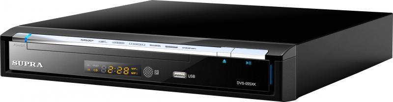 DVD-плеер SUPRA DVS-055XK,  черный