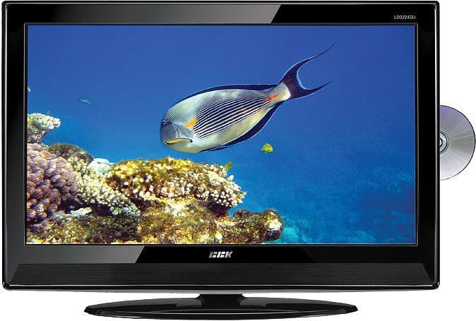 "Телевизор ЖК BBK LD3224SU  ""R"", 32"", HD READY (720p),  c DVD плеером,  черный"