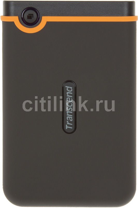 Внешний жесткий диск TRANSCEND StoreJet 25M2 TS640GSJ25M2, 640Гб, темно-серый