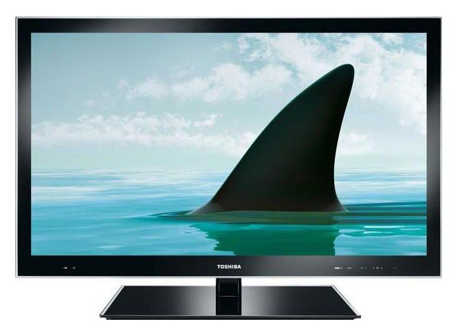 "LED телевизор TOSHIBA REGZA 46VL748R  46"", FULL HD (1080p),  черный"