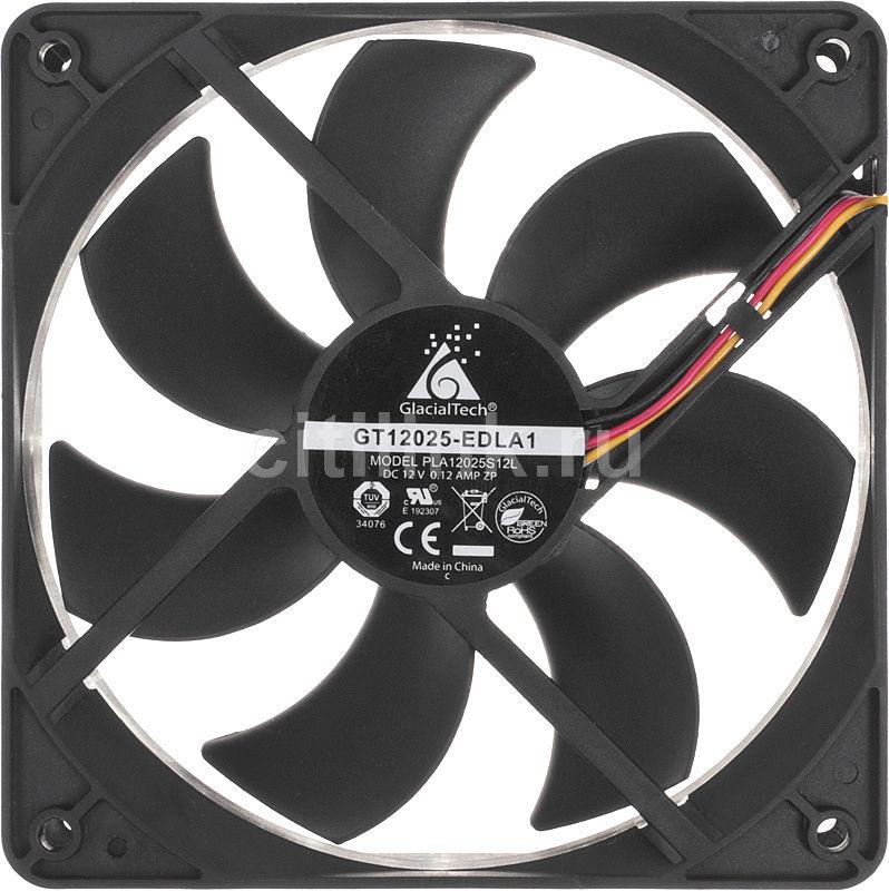 Вентилятор GLACIALTECH GT12025-EDLA1,  120мм, Bulk