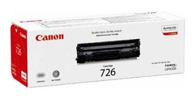 Картридж CANON 726 черный [3483b002]