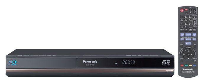 Плеер Blu-ray PANASONIC DMP-BDT100EE, черный