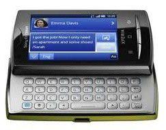 Смартфон SONYERICSSON X10 mini pro U20i  зеленый