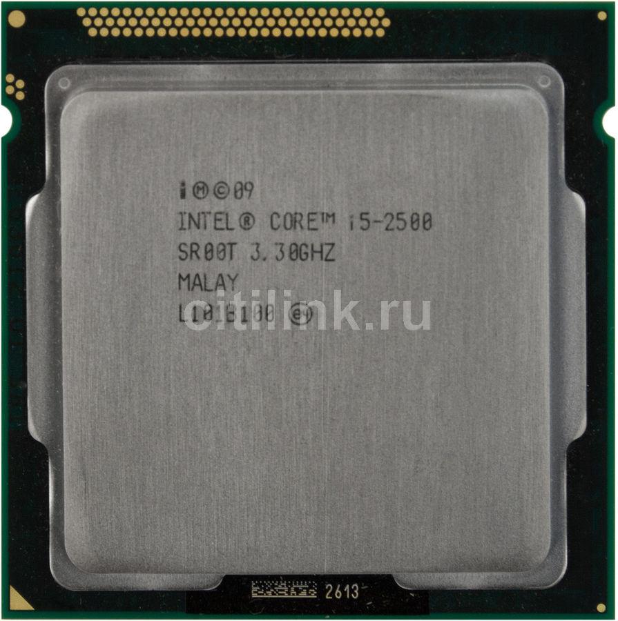 Процессор INTEL Core i5 2500, LGA 1155 OEM [cm8062300834203s r00t]