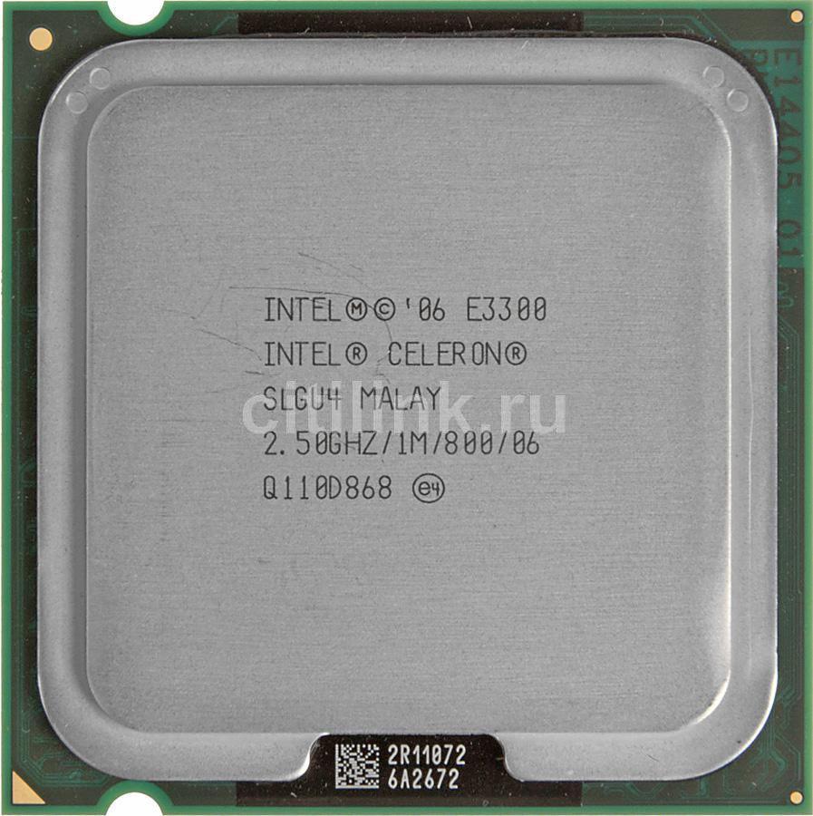 Процессор INTEL Celeron E3300, LGA 775 OEM [cpu intel lga775 e3300 oem]