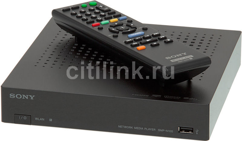 Медиаплеер SONY SMP-N100 Netbox,  черный