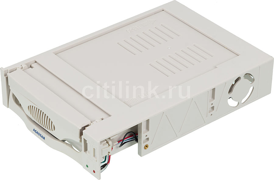 Mobile rack (салазки) для  HDD AGESTAR MR3-SATA(S)-1F, бежевый