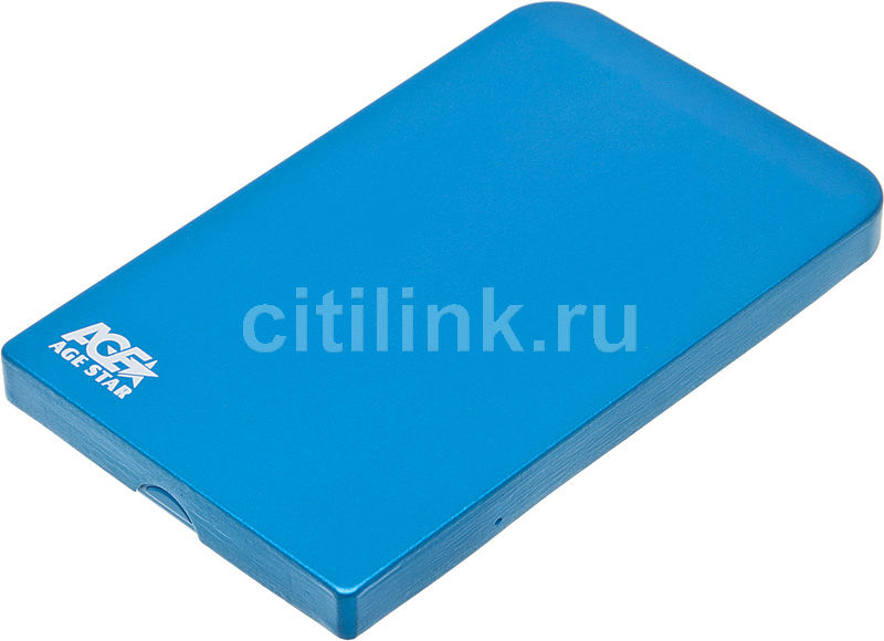 Внешний корпус для  HDD AGESTAR 3UB2O1, синий