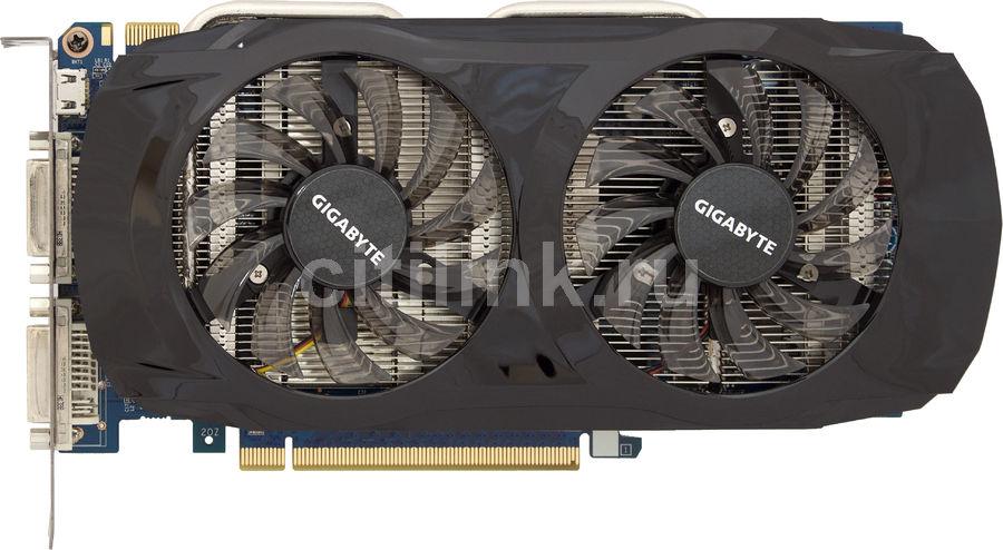 Видеокарта GIGABYTE nVidia  GeForce GTX 460SE ,  1Гб, GDDR5, OC,  Ret [gv-n460se-1gi]