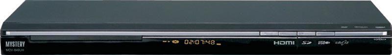 DVD-плеер MYSTERY MDV-849UH,  черный
