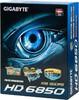 Видеокарта GIGABYTE Radeon HD 6850,  1Гб, GDDR5, OC,  Ret [gv-r685oc-1gd] вид 7