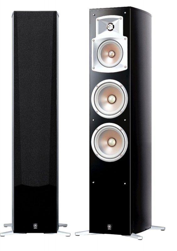 Акустическая система YAMAHA NS-555,  2.0,  черный