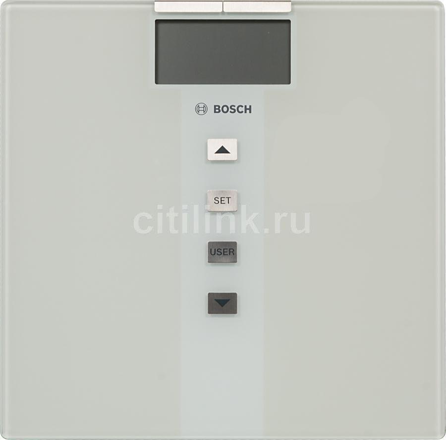 Напольные весы BOSCH PPW3330, до 180кг, цвет: белый