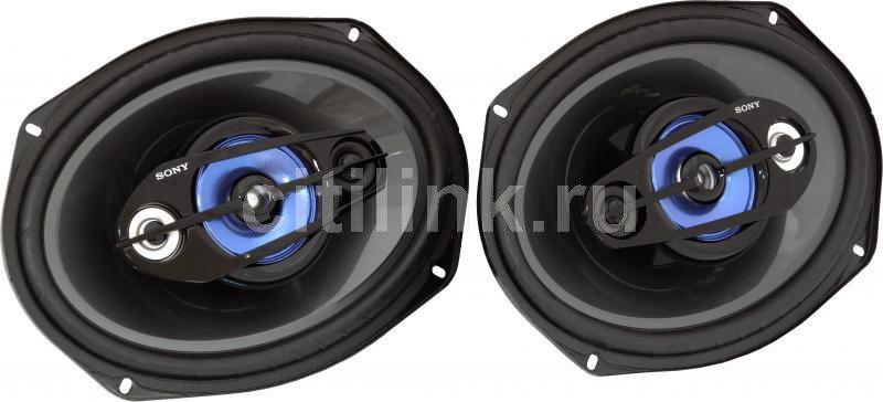 Колонки автомобильные SONY XS-F6949R,  коаксиальные,  400Вт